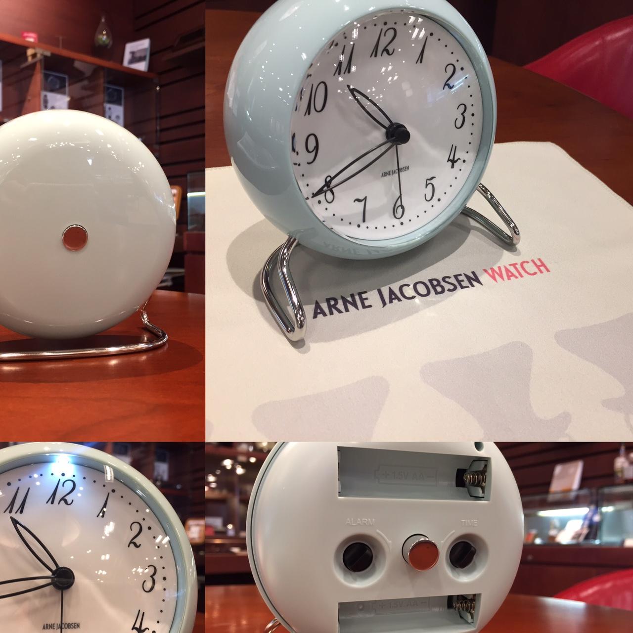 ARNE JACOBSEN(アルネ・ヤコブセン)  TABLE CLOCK(テーブルクロック) LK 限定カラー