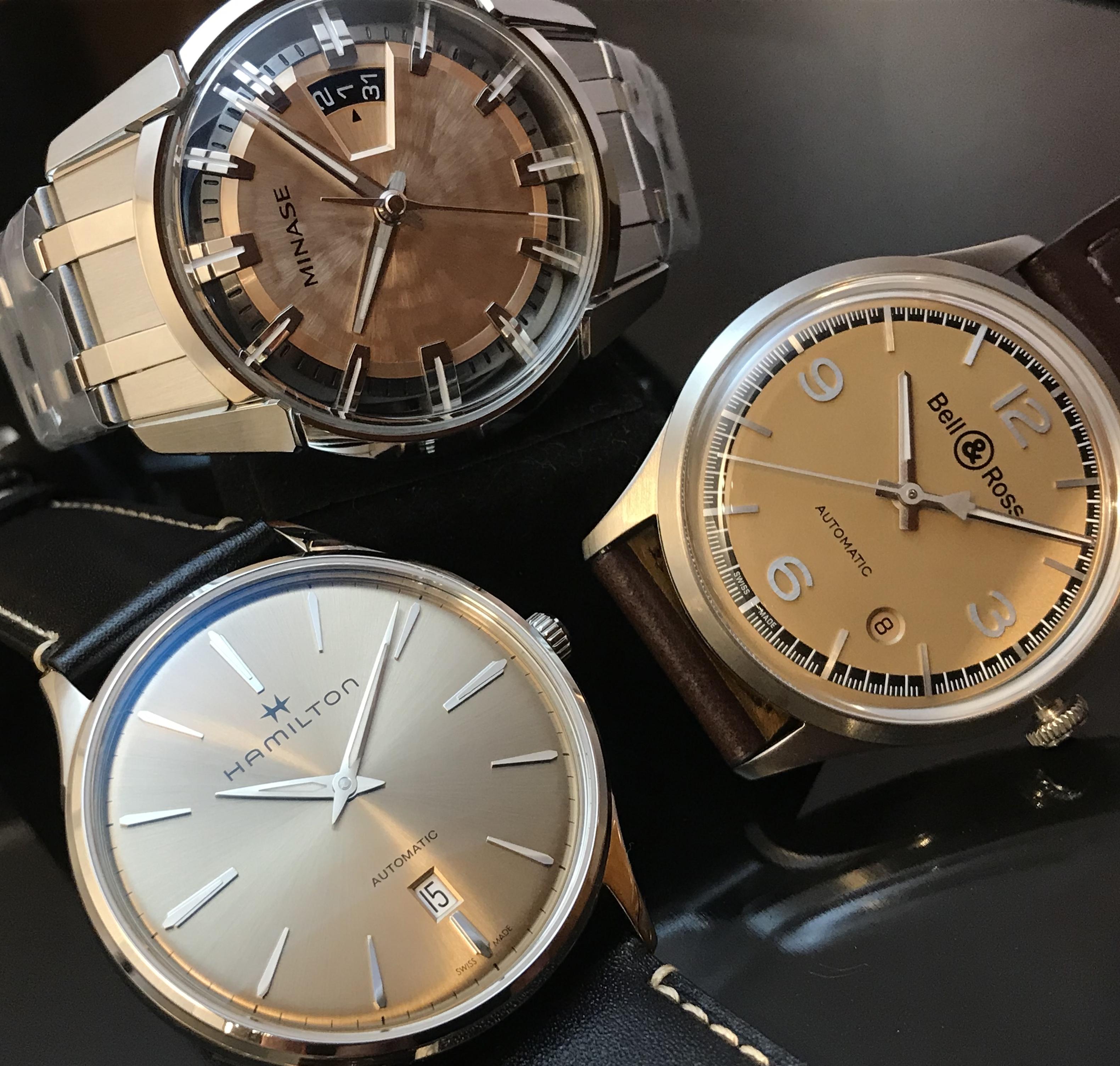 桜色の文字盤の時計を集めてみました🌸